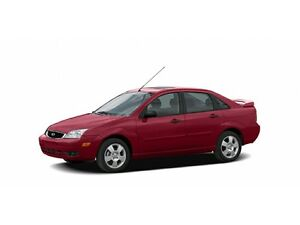 2005 Ford Focus ZX4 LOW KILOMETRES & BC OWNED