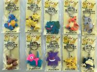 Cool Pokemon and sneaker key rings