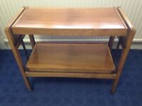 Retro / Vintage sewing machine side table