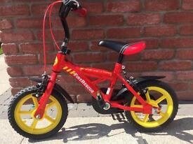 Boys 12 inch bike with stabilisers