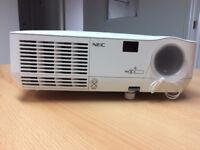 NEC Projector NP210 / With Remote / 2200 ANSI Lumen Brightness!