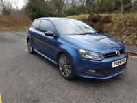 VW POLO GT 1.4ACT 150PS (XENONS, PARKING SENSORS, CRUISE CONTROL, ETC)