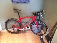 specialized carbon road bike medium frame