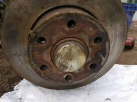 Iveco daily front wheel hub with bearing inside. 2008 model