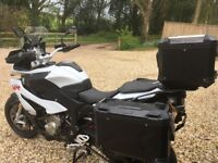 BMW S1000 XR 2015, Excellent Condition, 3,700 miles, Full Luggage, GPS Nav V