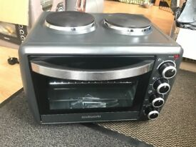 Cook works mini oven with hob