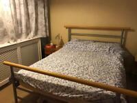 Bed frame & mattress