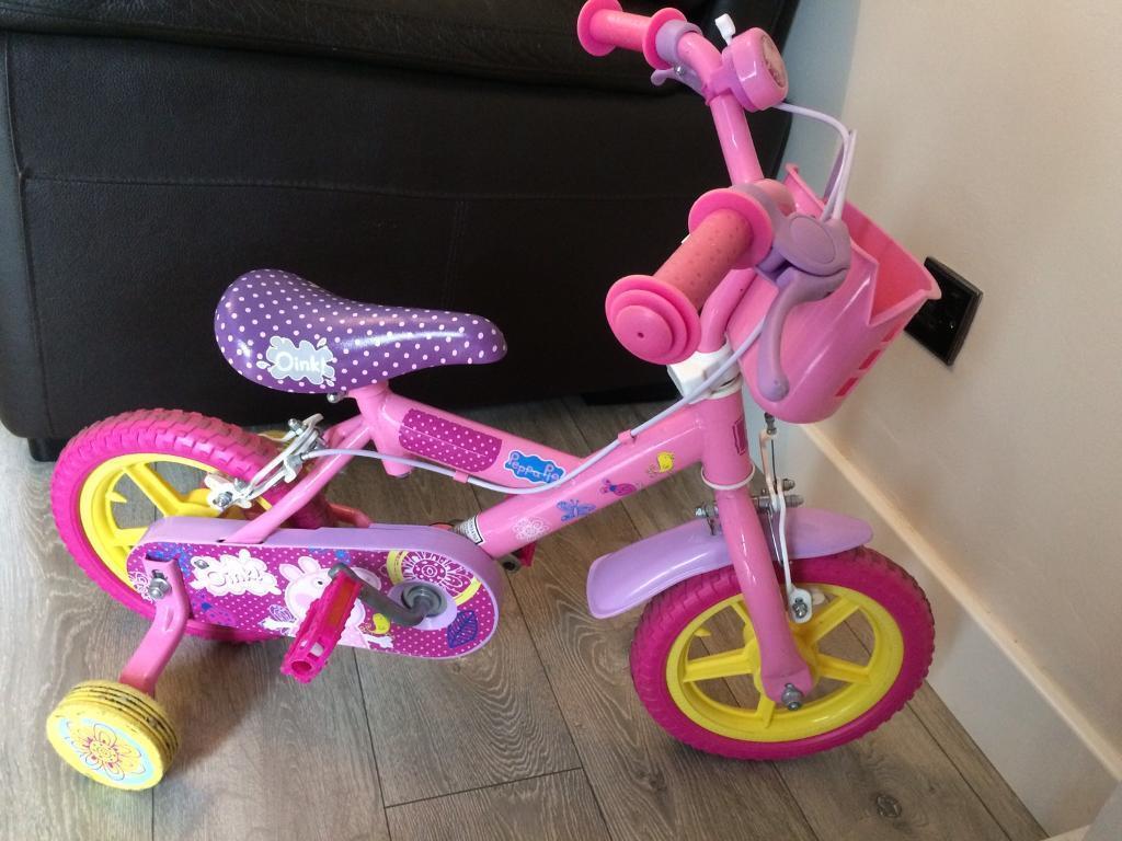 Girls 12inch Peppa Pig Bike In Birtley County Durham Gumtree