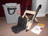 HandySitt Portable Highchair including Cushion, Stand Alone Legs and Storage Bag