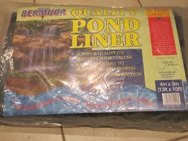 Bermuda flexible PVC Pond Liner 4m x 3m