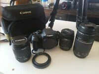 Canon 1200d with lot of extrass