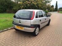 Vauxhall corsa 1.7 diesel 1year mot great conditions
