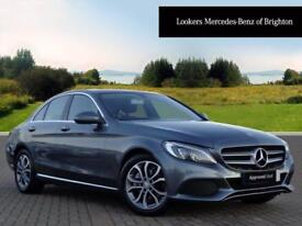 Mercedes-Benz C Class C220 D SPORT PREMIUM (grey) 2017-02-28