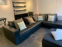 BoConcept Leather L-shaped sofa