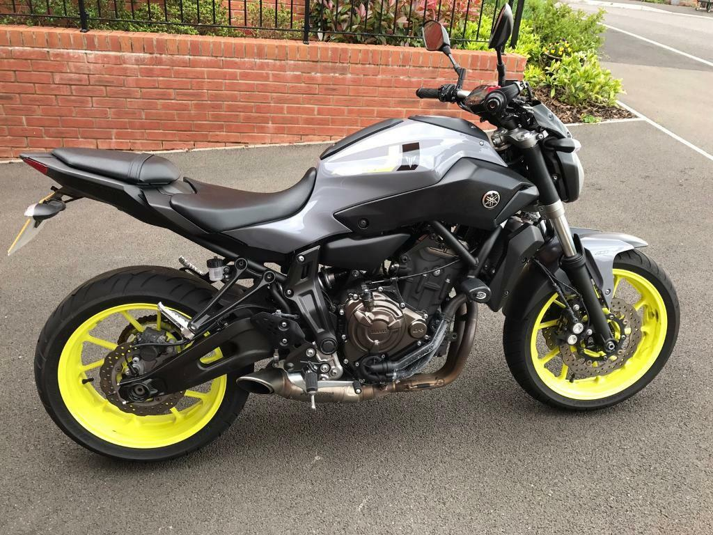 2016 yamaha mt 07 in exeter devon gumtree for Yamaha mt 9