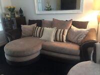 Dfs croft sofa & swivel armchair
