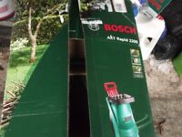 BOSCH AXT RAPID 2200 GARDEN SHREDDER UNUSED STILL IN BOX ,NEWPORT M4 JCTN 26 ,