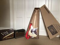 Peavey Raptor Plus electric guitar and Vox Pathfinder 10 watt amp, barely used, immaculate condition