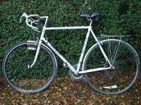 Vintage Raleigh Milk Race bicycle in excellent condition.