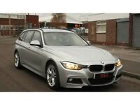 BMW 3 SERIES 2.0 320d BluePerformance M Sport Touring 5dr 2 KEYS FULL SERVICE HISTORY 2013