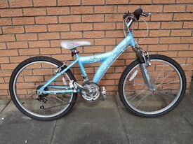 """Girl's bike (2). Both 24"""" wheels and 18 speed gears. Very good condition. £50 each."""
