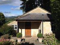 1 bedroom cottage in Limpley Stoke (4 miles from Bath) available to rent until 1st September