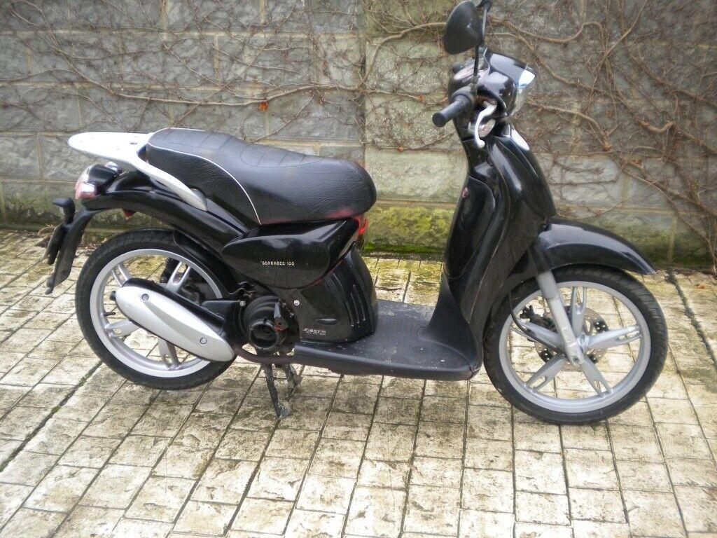 Aprilia Scarabeo Big Wheel Automatic Scooter 100 4