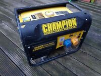 champion generator 2.8 kw good condition