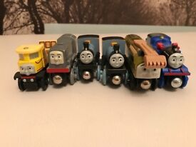 Thomas the tank engine and friends wooden trains