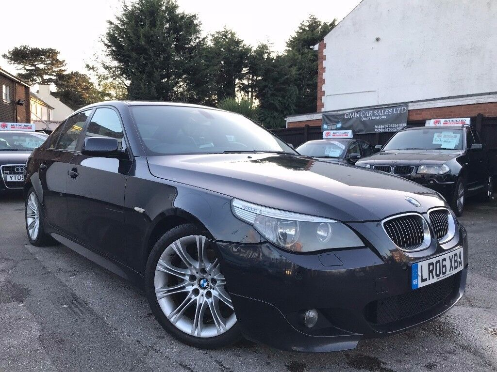 BMW 5 Series 2.5 525d M Sport Full Service History 2 Owners Sat/Nav Rear DVD Excellent Condition