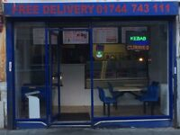 Established busy takeaway for sale in St Helens