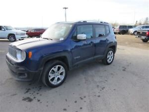 2017 Jeep Renegade Limited 4x4 Leather