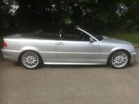BMW 330 M sport auto convertible E46 (petrol)