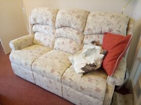 HSL sofa. 3 seater. Less than 2 years old. Perfect Condition.