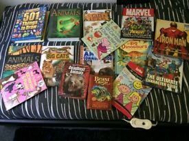 Animal and superhero books x25