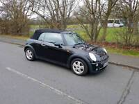 Mini cooper convertible only 74k