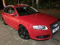 2007 Audi A4 S LINE AVANT 2.0 Tdi 140 bhp 6 speed estate # fsh# cheap insurance model #