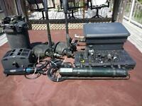 koi fish pond equipment