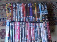 Joblot of DVD's, 51 in total