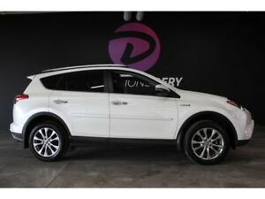 2016 Toyota RAV4 Limited HYBRID navigation cuir toit mags