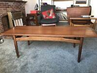 G Plan vintage retro Brasilia range surf board coffee table Danish teak stunning