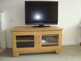 TV - Panasonic 32 inch, Panasonic Video/DVD and Panasonic Freeview plus HD unit