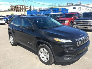 2014 Jeep Cherokee / SPORT/ 4x4/ B.CAM/ REMOTE START