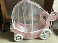 Baby Annabell Musical Carriage for doll. In very good condition.
