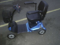 DRIVE STYLE BLUE 4 MPH mobility scooter, good condition