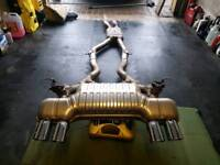 BMW M4 F83 Convertible Exhaust