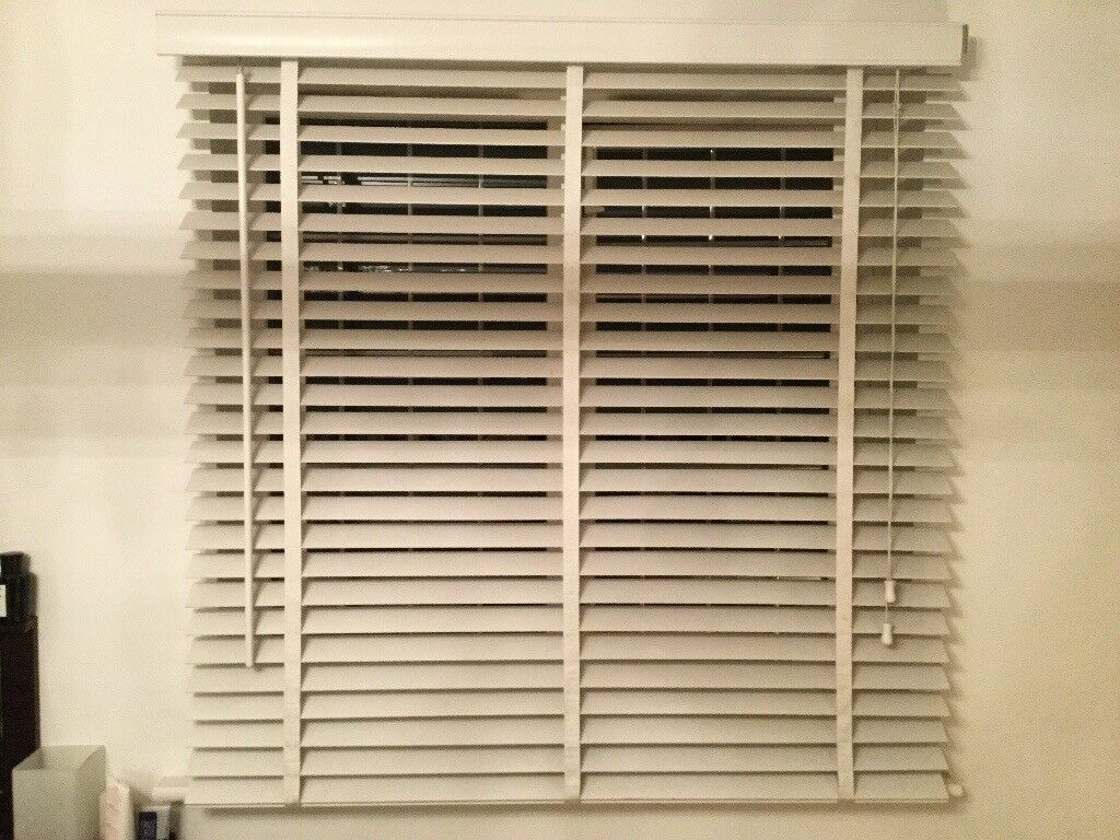 White Wooden Venetian Blinds Next In Andover Hampshire Gumtree