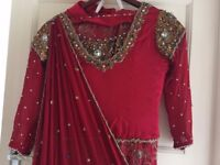 Asian wedding lengha