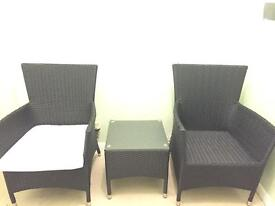 Table and chairs set- outdoor/indoor