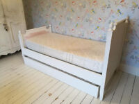 Beautiful Chic Shack Child's Versailles Truckle Bed £500